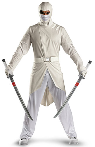 adult deluxe storm shadow. adult snake eyes costume  sc 1 st  HissTank.com & G.I. Joe: Rise Of Cobra Halloween Costumes - HissTank.com