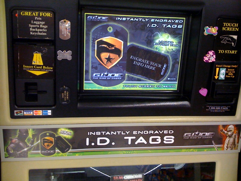tag engraving machine walmart