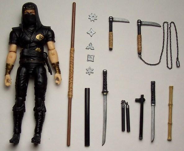 custom ninja master weapon pac
