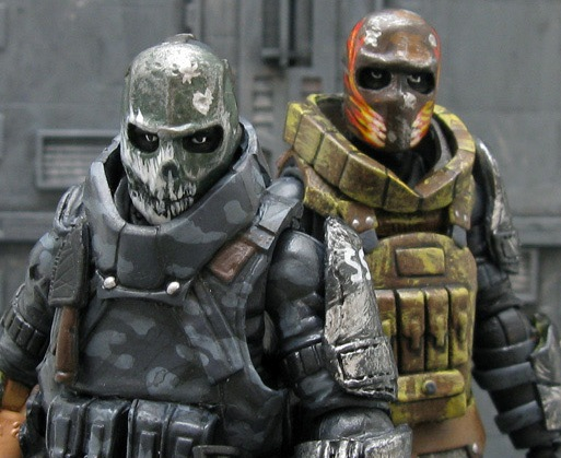 Custom G.I. Joe Rios And Salem Army Of Two - HissTank.com