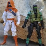 GI Joe Basic Tginzu Snake Eyes Repaint