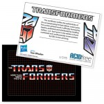 AcidFree Gallery Transformers NYCC Trading Card