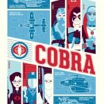 Dave Perillo Cobra Poster