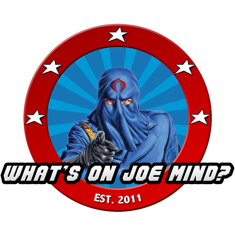 Whats on Joe Mind Logo HissTank