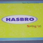 1993 toy fair hasbro catalog spring