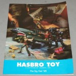 1995 toy fair hasbro catalog cover