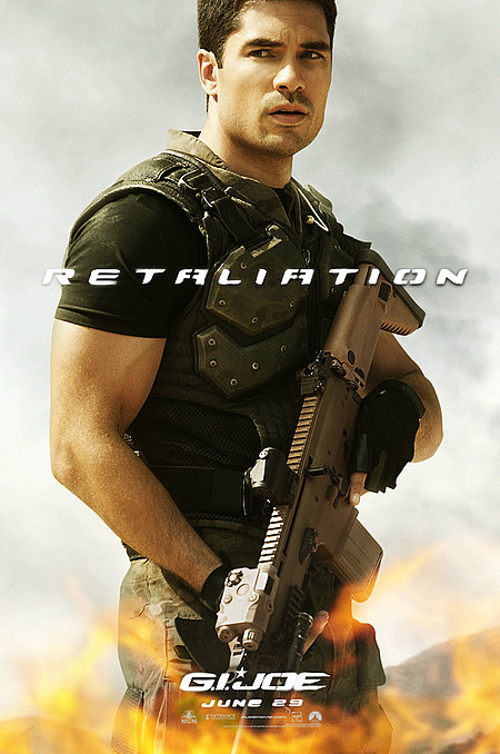 G I Joe 2 Retaliation Trailer 3 Flint D J Cotrona