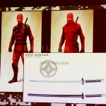 red ninja weapons gijoe retaliation