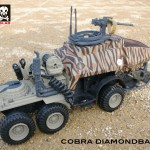 Cobra Diamondback hiss tank