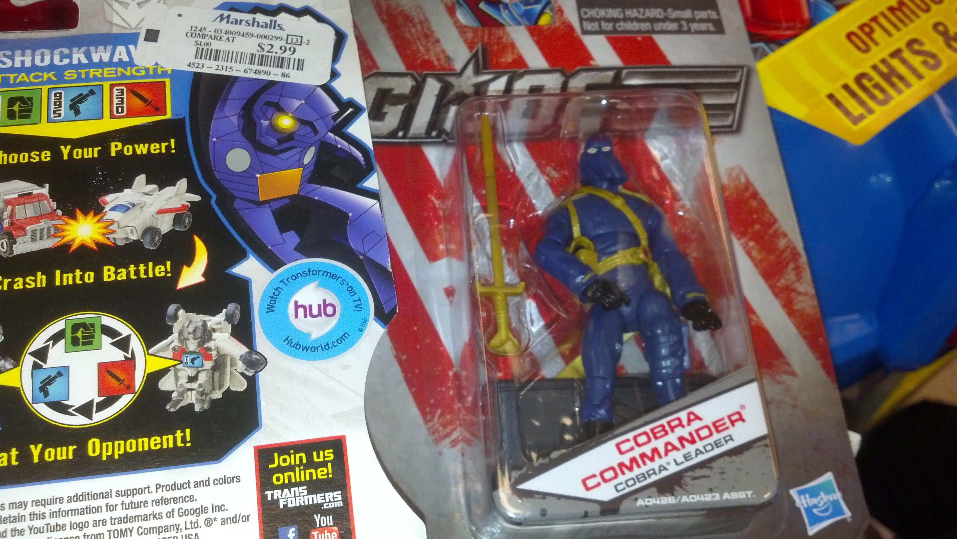 GI Joe Basic Wave 2 Cobra Commander