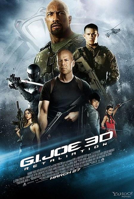 gijoe retaliation 3d poster