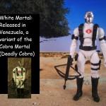 white cobra mortal 25thanniversary