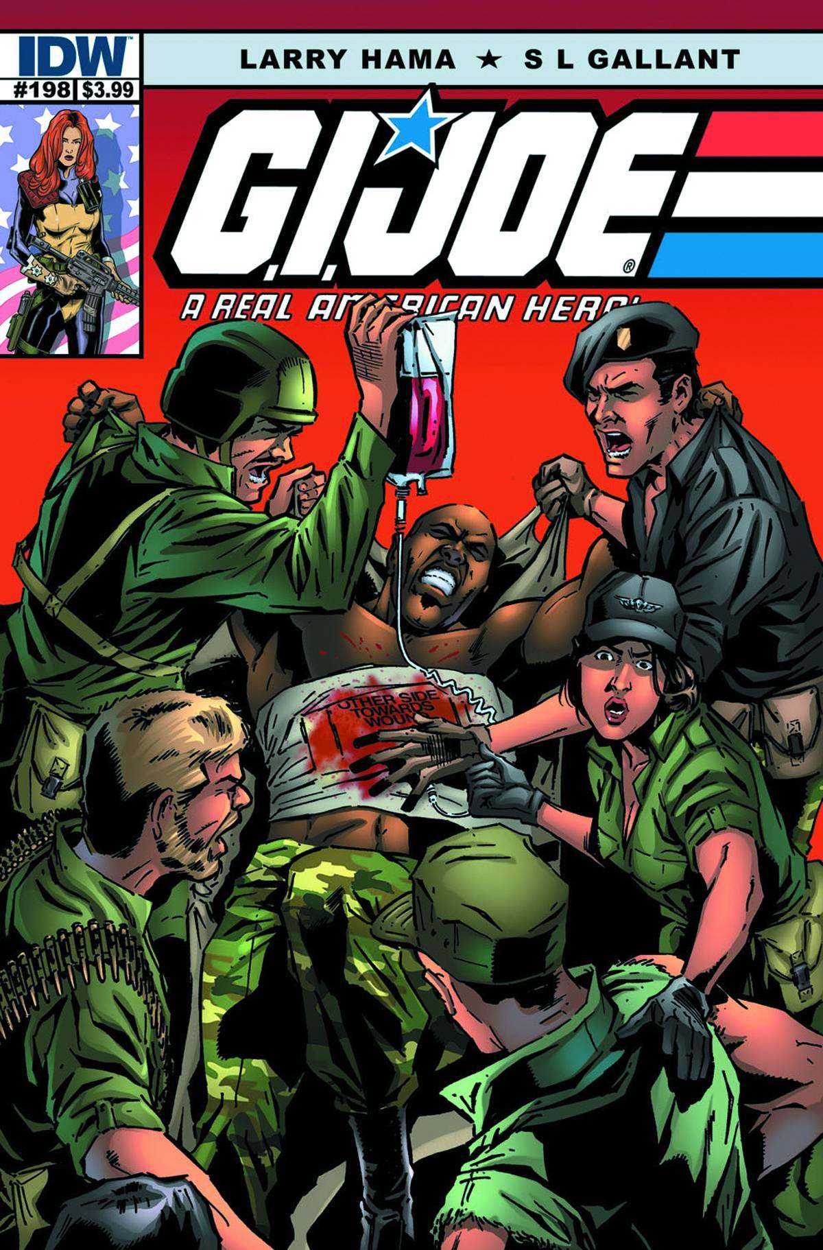 IDW G.I.Joe A Real American Hero #198 Preview - HissTank.com