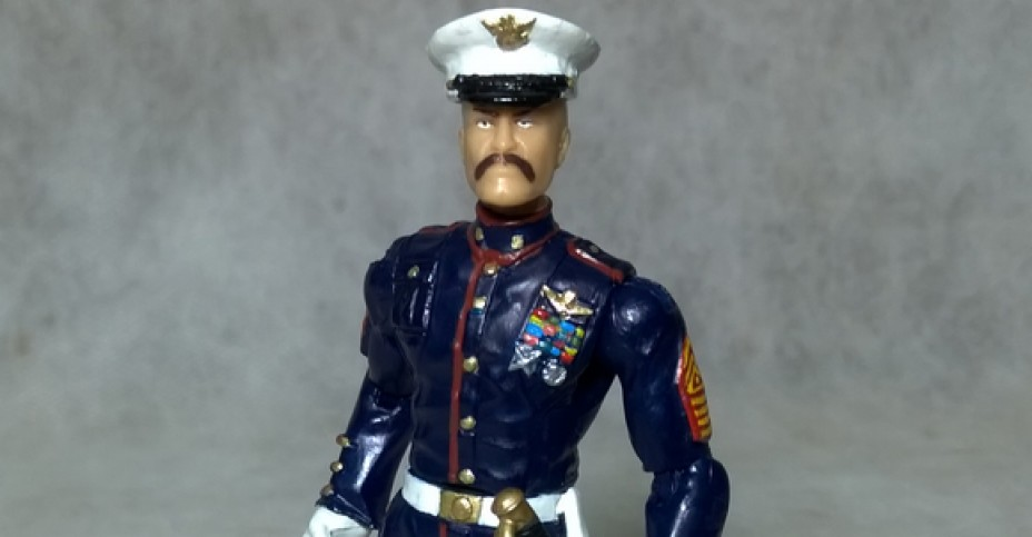 Custom Modern Era Gung Ho v2 Marine Dress Blues 01 Hisstank