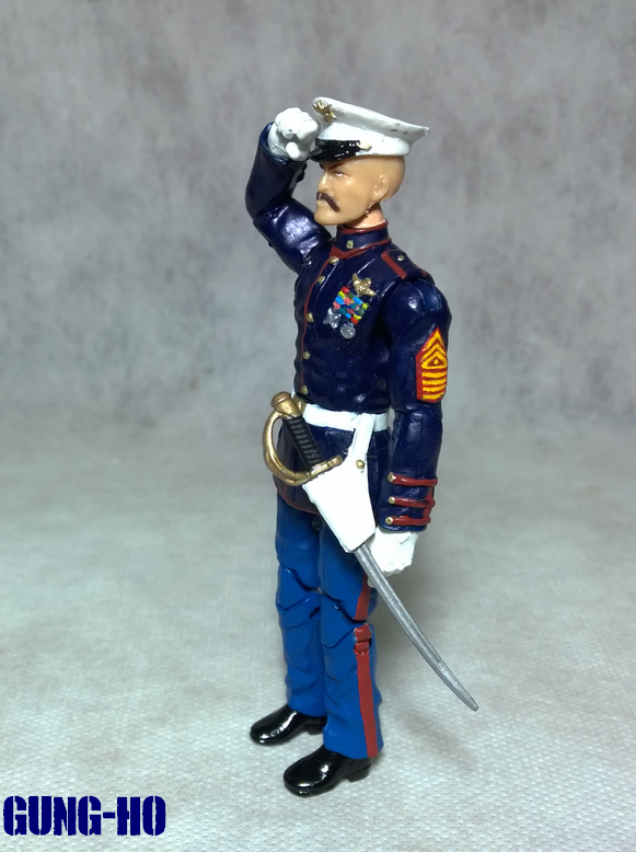 custom modern era g i joe gung ho marine dress blues by letal