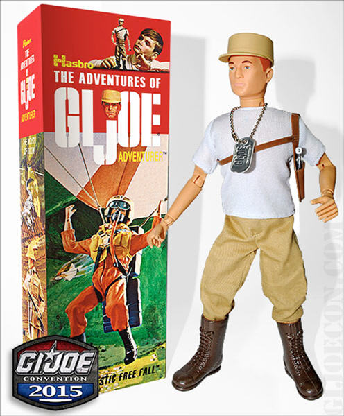 JoeCon 2015 GI Joe Adventurer Hisstank