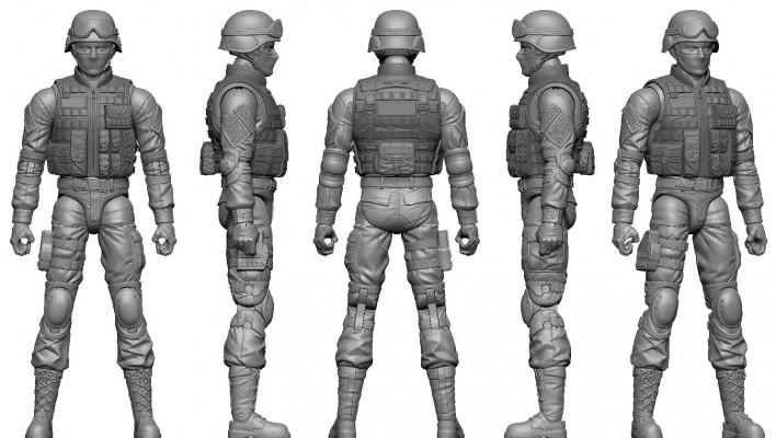 New G.I. Joe Inspired 6 Inch Kickstarter On The Way