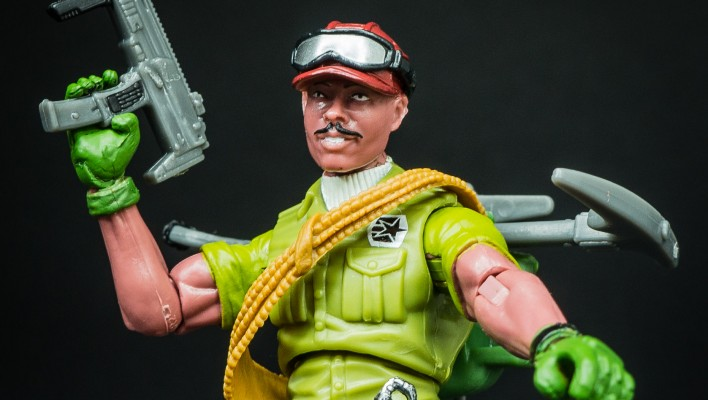 G.I. Joe FSS 3.0 Alpine Mountain Trooper Photo Shoot