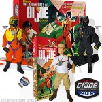 JoeCon 2015 Adventures of GI Joe Adventurer Box Set Hisstank