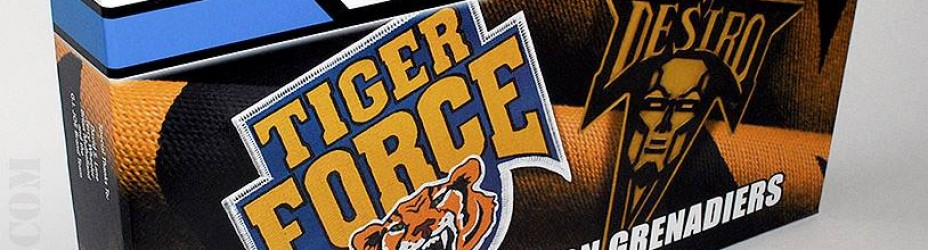 joecon 2015 tiger force box set package images