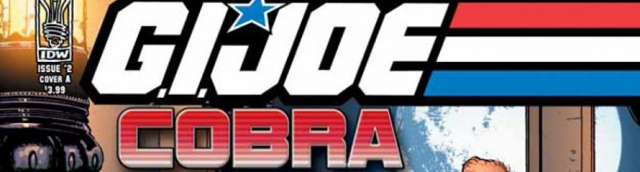 GIJOE Cobra 2 IDW Cover