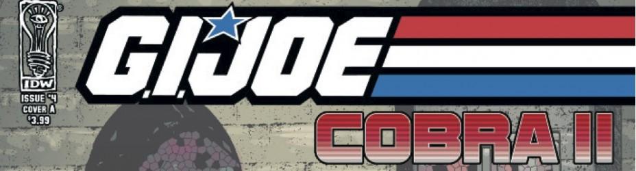 GIJOE Cobra II IDW 4 Cover