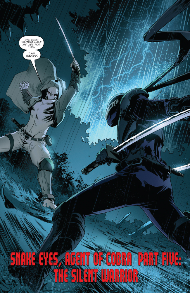 Snake Eyes Agent Of Cobra 5 Preview Hisstank