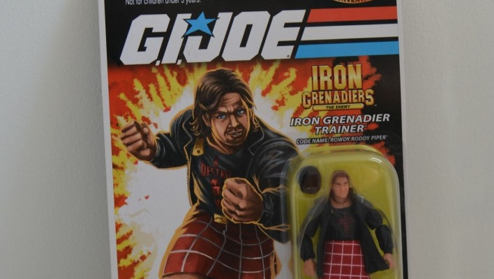 Joe Moscone Former Hasbro HPR Auctioning Off His Action Figure Collection For Charity