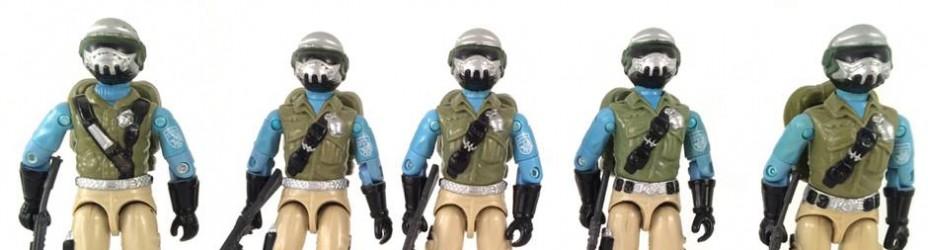 GI Joe ARAH Steel Brigade Versions
