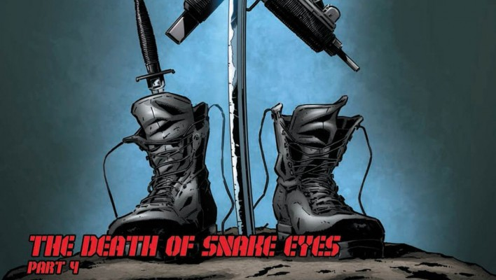 IDW G.I. Joe ARAH #215 The Death of Snake Eyes Part 4 Preview