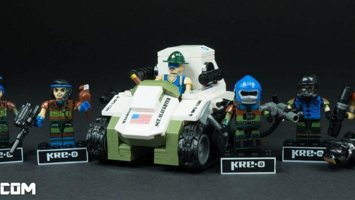 SDCC 2015 KRE-O G.I. Joe Construction Commandos Photo Shoot