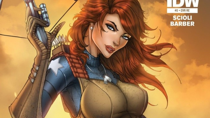 Top 10 Best G.I. Joe Scarlett Comic Covers Of All Time