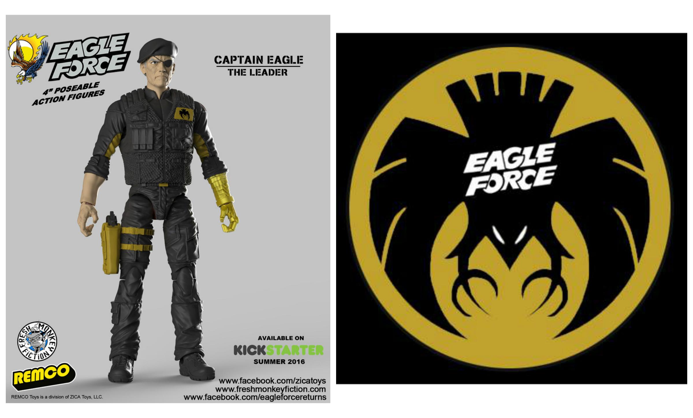 eagle force returns captain eagle color image now available