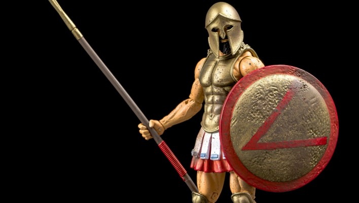 NJCC Ultimate Spartan From Boss Fight Studio Now Available Online