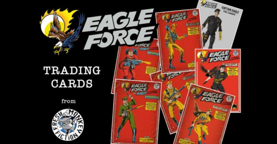 Eagle Force Trading Card Kickstarter