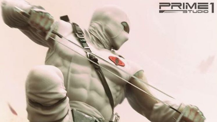 Storm Shadow Statue Prime 1 Studio Teaser Image