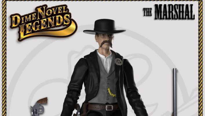 Announcing Chicken Fried Toys Dime Novel Legends Western Themed 1:18th Scale Toy Line Kickstarter Campaign!