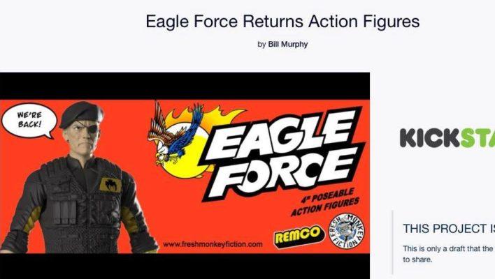 Eagle Force Returns Kickstarter Campaign Is Now Live!
