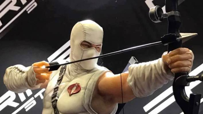Prime 1 Studio Storm Shadow and Snake Eyes Statue Images