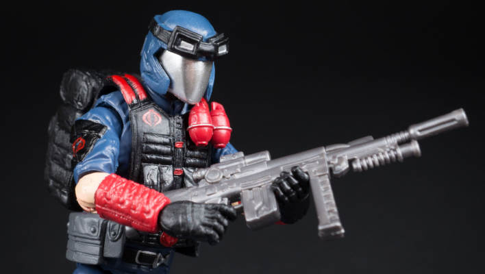 G.I. Joe 50th Anniversary Cobra Viper Photo Shoot
