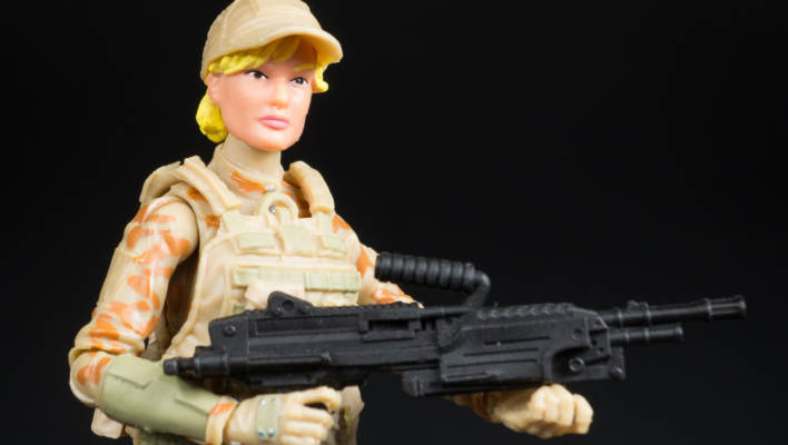 Marauder Task Force Female Valkyries TAN Camo Desert-Ops Version Photo Shoot