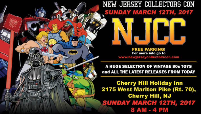 New Jersey Collectors Con Spring Show Update March 12th 2017