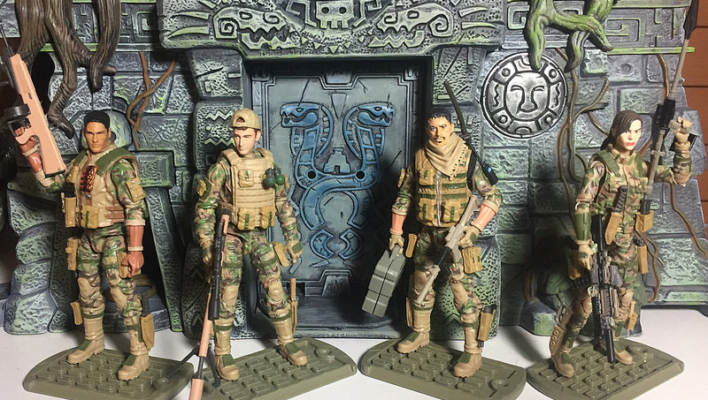 G.I. Joe - Marauder Task Force Cross Over Customs