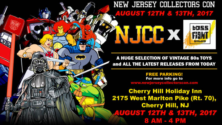 NJCC Summer Event August 12th & 13th Boss Fight Studio Launch Party!