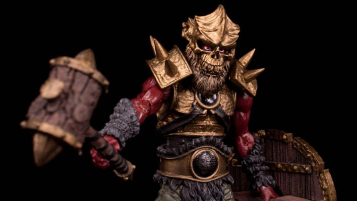 Boss Fight Studio Series 2 Fantasy Blasted Land Orc NJCC 2017 Exclusive