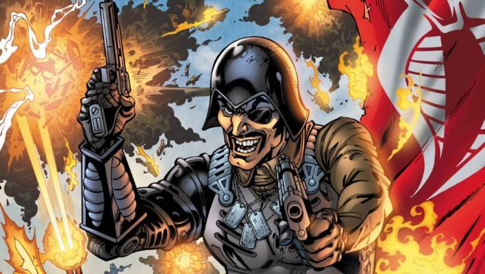 IDW G.I. Joe 243 Cover Art by John Royle