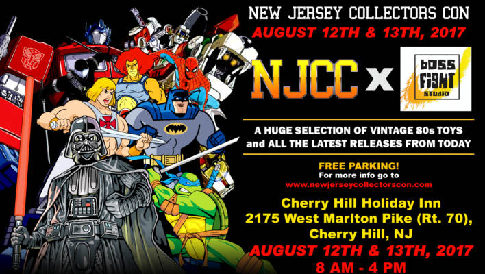 New Jersey Collectors Con Summer Show Update August 12th and 13th 2017