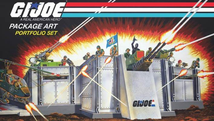 Hasbro Hascon G.I. Joe VIP Update Artwork Hardbound Yearbook Exclusive