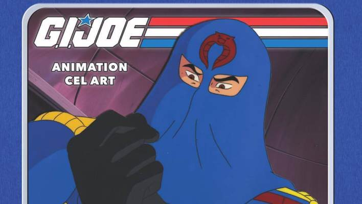 Hasbro Hascon G.I. Joe VIP Update Custom Folio-Style Animation Cells Exclusive