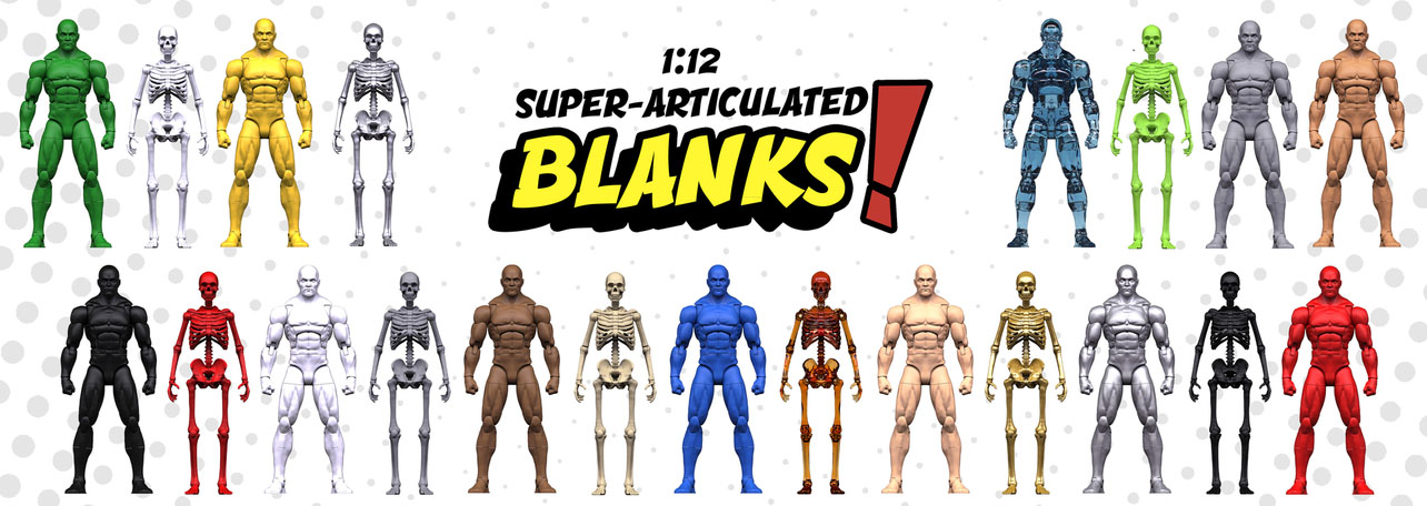 Super Articulated Blanks 6-Inch Scale Figure – Kickstarter